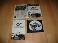 GRAN TURISMO 4 THE REAL DRIVING SIMULATOR PARA LA SONY PS2 USADO COMPLETO