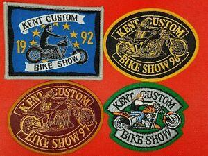 HELLS ANGELS KENT CUSTOM BIKE SHOW 1992,1994, 1996 ,1997 Patch Waistcoat, Jacket