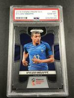 KYLIAN MBAPPE 2018 PANINI PRIZM #80 WORLD CUP ROOKIE RC PSA 10 GEM MINT