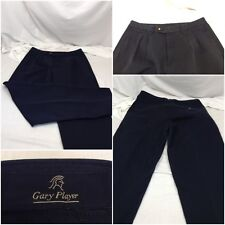 Gary Player Pants 34x34 Black Cotton Mint A098