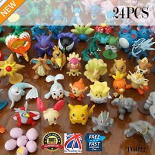24 x Pokemon Mini Figurines Set Vendeur Britannique Rapide & TG022