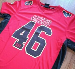 Fanatics NFL Moro Poly Mesh San Francisco 49ers Jersey Herren Men S MSF2705RL