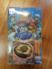 NEW PSP Metal Fight Beyblade Portable Chouzetsu Tensei! Vulkan Horuseus JAPAN