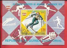 Äquatorialguinea Olympische Spiele Moskau Läufer Laufen Block 284 Äquatorialguinea Afrika