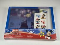 Brand New Disney Mickey Mouse And Friends Scrapbook Kit Fireworks  8 x 8