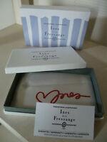 boite coffret étui box pour STYLO  INES DE LA FRESSANGE PARIS NEUF