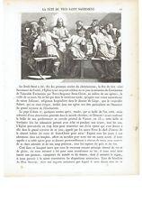 """1825 """"La Fete du Saint-Sacrement"""" (Fête-Dieu Corpus Domini, Corpus Christi)"""