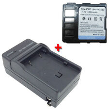 BN-VF733 BN-VF733U Battery + Charger for JVC GR-DF550 GR-DF565 GR-DF570 GR-DF590