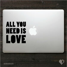 The Beatles All You Need Is Love Macbook Decal / Macbook Sticker