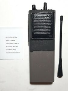 MOTOROLA MT1000 4W 8-CH UHF 438-470MHz RADIO W/Free Programming GMRS FD HAM XTS