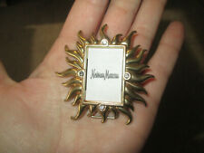 Vintage Jay Strongwater for Nieman Marcus Sunburst Crystal Mini Picture Frame