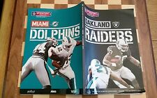 2014 Nfl Oakland Raiders V Miami Dolphins Wembley Official Programme