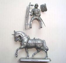 Figurine mokarex série armure du XVème siècle : Homme d'armes N° 1