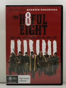 DVD - The H8ful Eight - FREE POST #P4