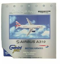 Gemini jets, 1:400 British Airways A319 G-EUPA