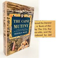 "The Caine Mutiny – FIRST EDITION – 1st DJ – ""The City Boy"" – Herman WOUK 1951"