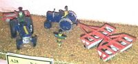 Farm machinery ground prep A28 UNPAINTED N Gauge Scale Langley Models Kit 1/148