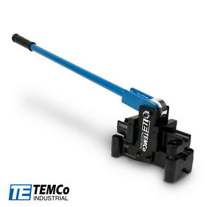 "TEMCo TH3030 Offset Conduit Bender ½""& ¾"" EMT Conduit Bender (2 Offset Benders 1"