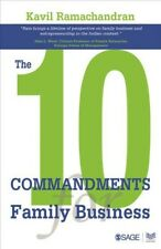 10 Commandments for Family Business, Hardcover by Ramachandran, Kavil, Brand ...