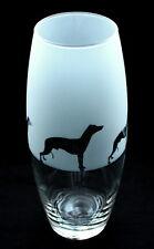 More details for whippet dog gift vase