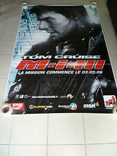 AFFICHE MISSION IMPOSSIBLE 3 Tom Cruise 4x6 ft Bus Shelter Poster Original 2006