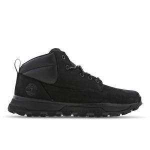 Timberland Treeline UK Size 5 Boots Black Grade School Women's Boy's Shoes