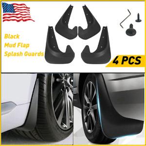 4X New Thicker Mud Flaps Splash Guards Black Universal For Car Pickup Van Truck