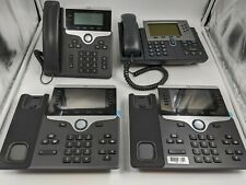 Lot of 7 Good Cisco IP Phones and Conference Equipment -NR0361
