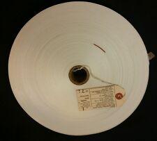 "70 Yard Roll 1-1/2"" White Nylon Webbing 1.5"" Military Grade 1500 lbs Rated"