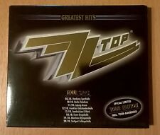 ZZ TOP MEGA RARE Greatest Hits 2002 Special Limited Tour Edition with TOUR PASS