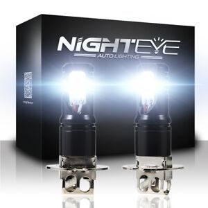 NIGHTEYE H3 160W 1800LM LED Nebelscheinwerfer Globe Birne Licht Auto Lampen DE