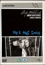 MR & MRS SMITH (1941)  -  UK REGION 2 DVD -  ALFRED HITCHCOCK