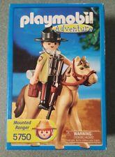 Playmobil #5750 Mounted Police Ranger! New! Retired!