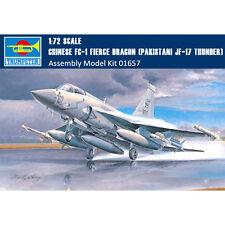 Trumpeter 01657 1/72 Chinese FC-1 Fierce Dragon(Pakistani JF-17 Thunder) Fighter
