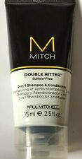 Paul Mitchell Mitch Double Hitter 2 in1 Shampoo Sulfate Paraben Free 75ml