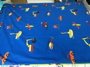 Transport, planes, trains childs single Duvet Cover with pillow case