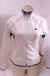 New Sugoi Women's HydroLite Jacket Small White Cycling Bike Wind Water Resistant