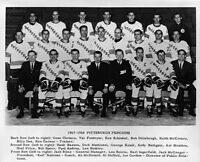 1967-68 1st Season Pittsburgh Penguins Team Picture Black & White 8 X 10 Photo