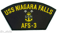 USS Niagara Falls AFS-3 embroidered patch Master Chief USNavy combat stores ship