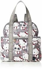 HELLO KITTY LeSportsac DOUBLE TROUBLE BACKPACK 2way 45th 2442G630 From Japan