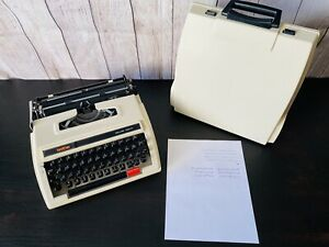ARABIC/FARSI Brother Deluxe 760 TR typewriter with case