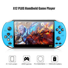 5.1in X12 PLUS Handheld Game Console 8GB Built-in 2000 Games for PSP Game Player