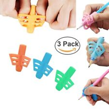 3Pcs Pencil Grips Writing Aid Grip Posture Correction Tool for Kids Preschoolers