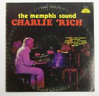"""Charlie Rich The Memphis Sound 12"""" Vinyl Record Album LP Sun Records 1976"""
