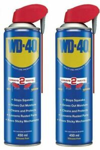 WD - 40 Multi-Use Product 220 ml  and 450ml pack of 1 ,pack of 2