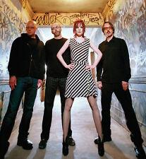 Shirley Manson, Duke Erikson, Steve Marker and Butch Vig photo - D1027 - Garbage