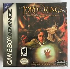 GBA The Lord of the Rings: The Fellowship of the Ring, New & Factory Sealed