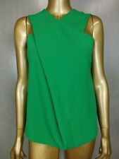 COUNTRY ROAD  BLOUSE TOP SHIRT CAMI TUNIC  - VIBRANT GREEN -  XX SMALL