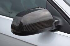 Fibre De Carbone Aile Miroir Bord Set Covers pour s'adapter AUDI A4 (B8 2011-15)