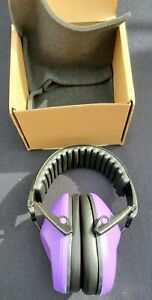PURPLE Muff Defender Noise Reduction Earmuff Protection Hearing Baby Kids